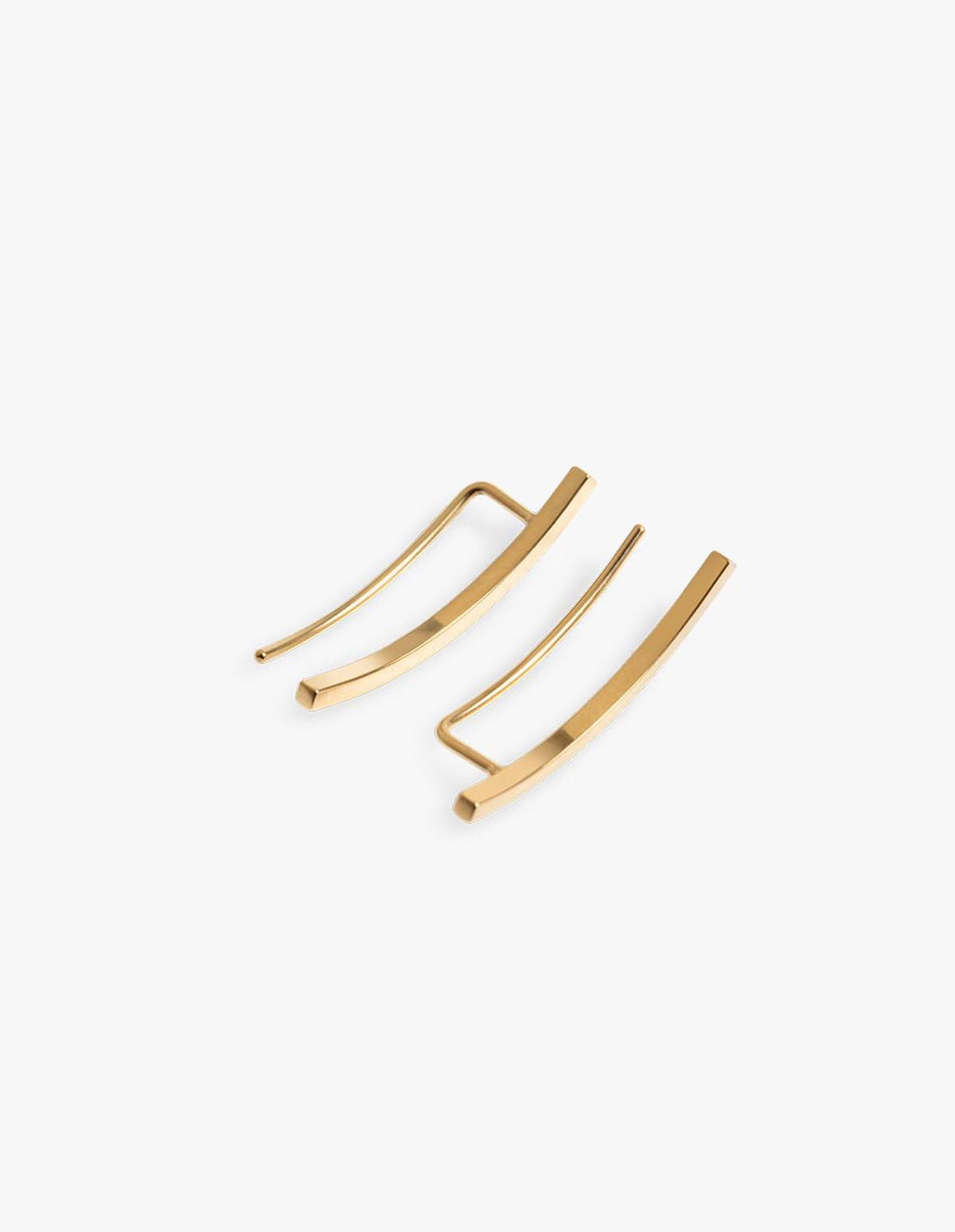 The Boyscouts Phase Earring Gold - Pair in Gold