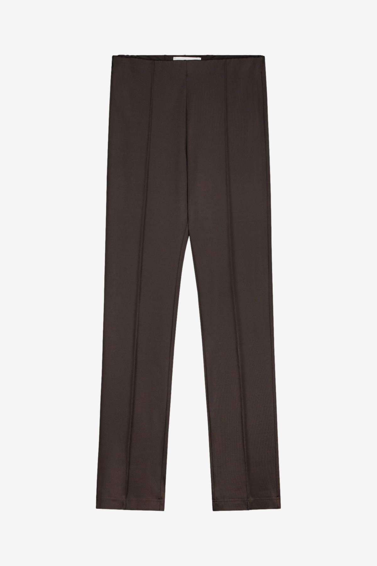 The Five Studio The Everyday Trousers in Fudge
