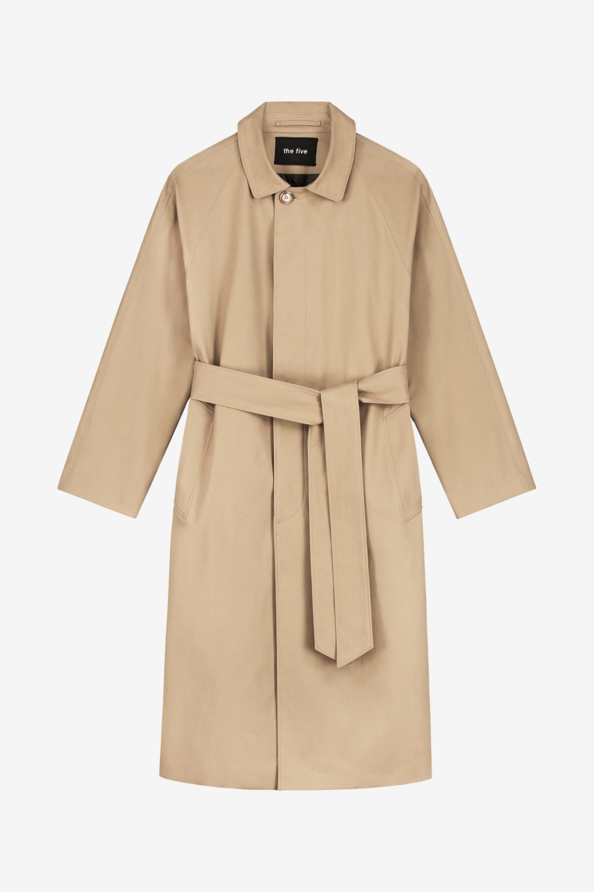 The Five Studio The Trench in Caramel