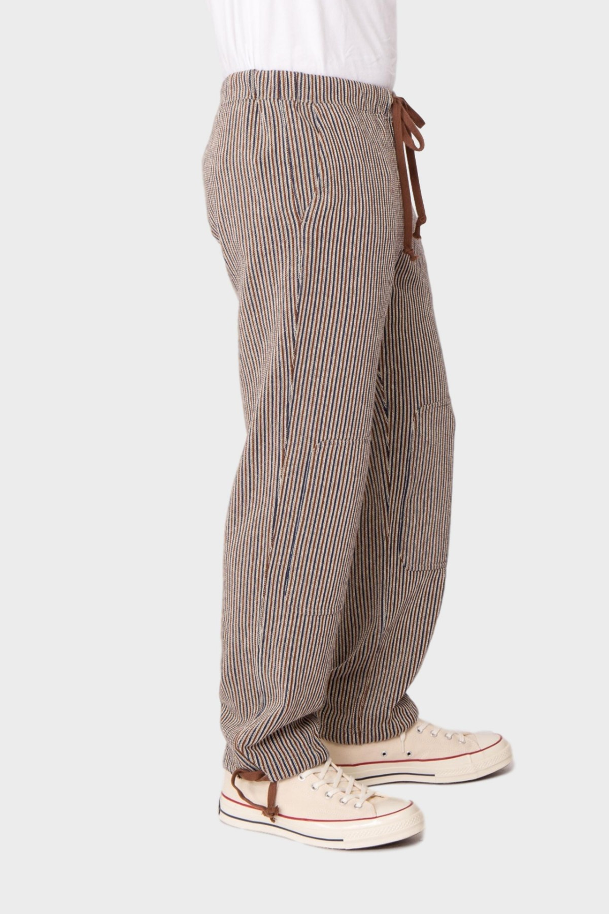 ts(s) Knee Patch Training Pants in Navy Brown