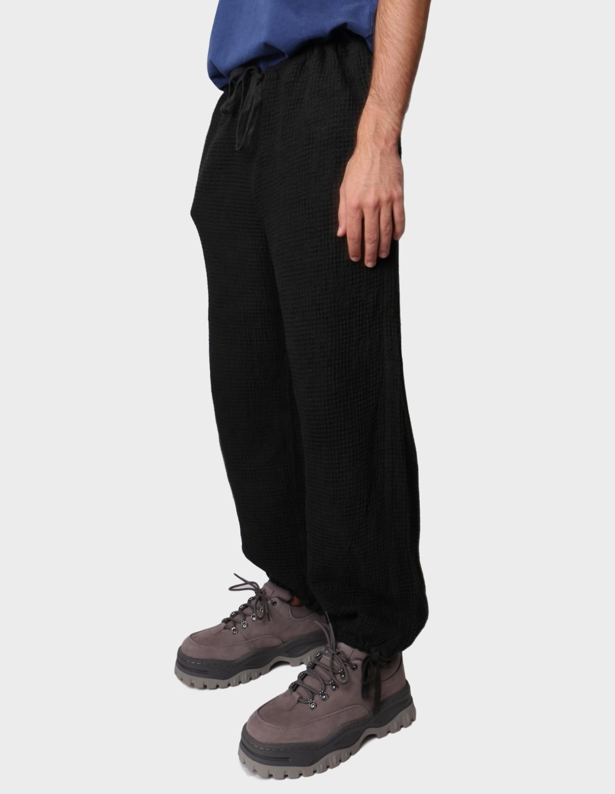 ts(s) Drawstring Wide Pants in Charcoal