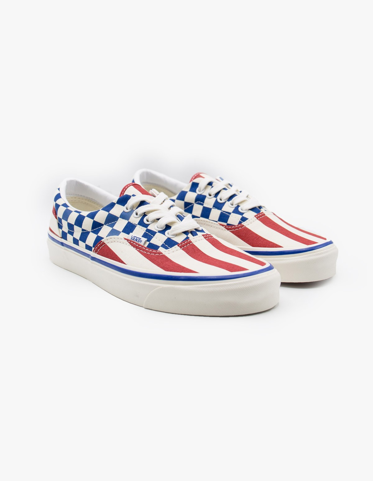 Vans Era 95 DX Anaheim in Stripe Block OG