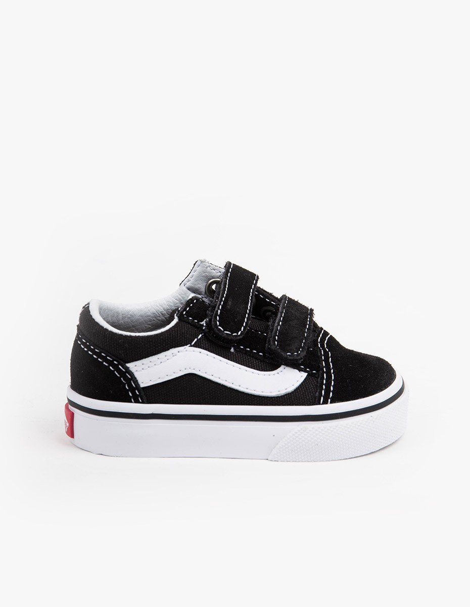 Vans Old Skool V (Youth) in Black