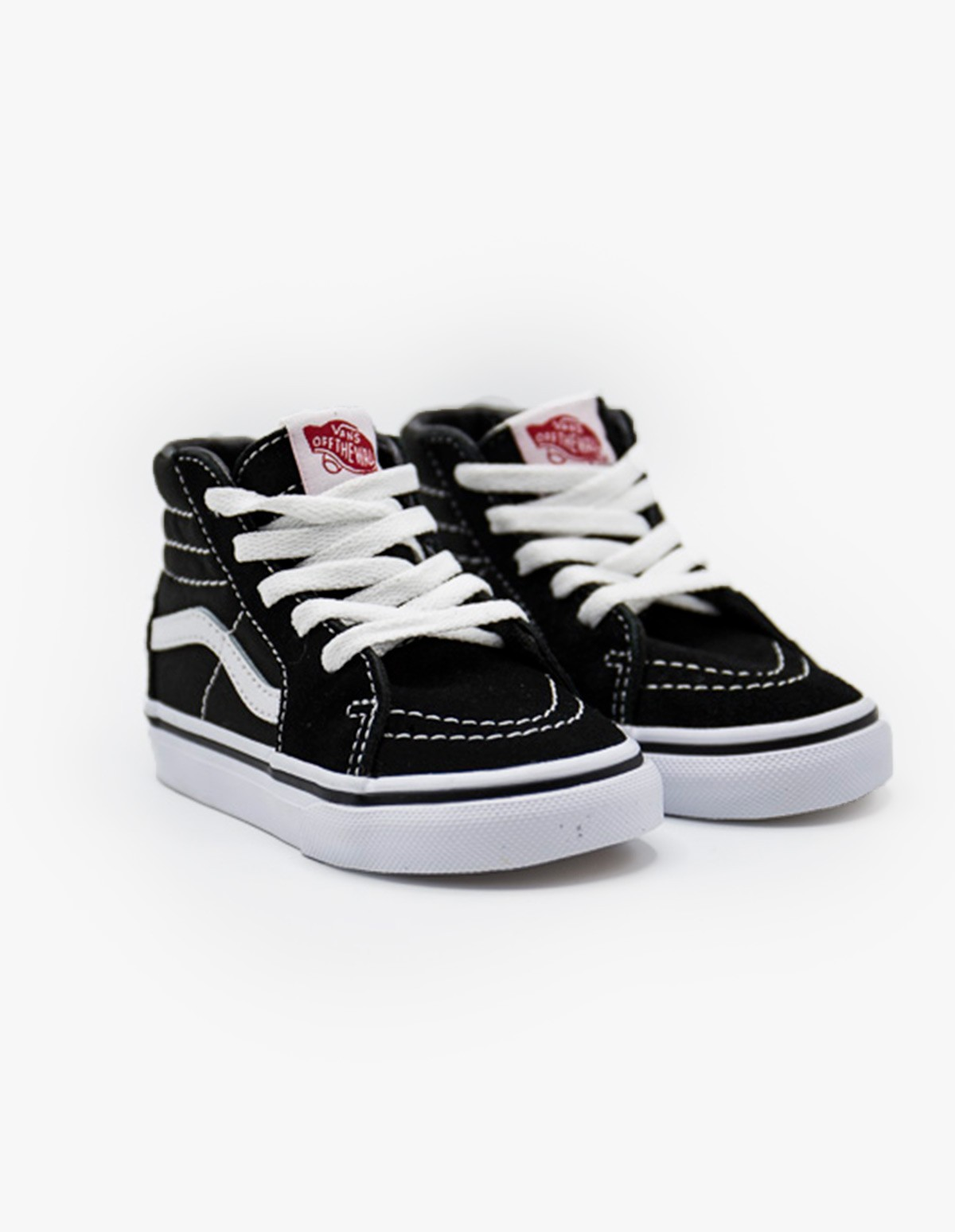 Vans Sk8-Hi (Youth) in Black / White