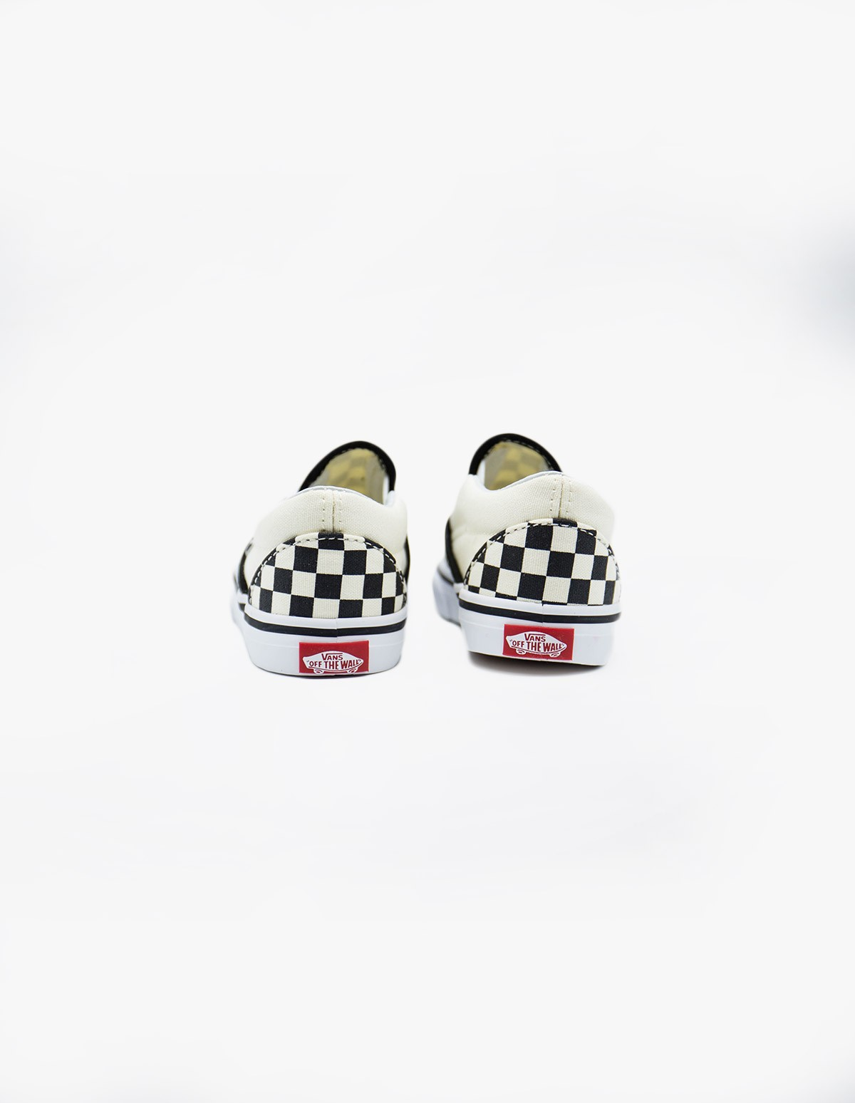 Vans Slip-On (Youth) in Black & White Checkerboard