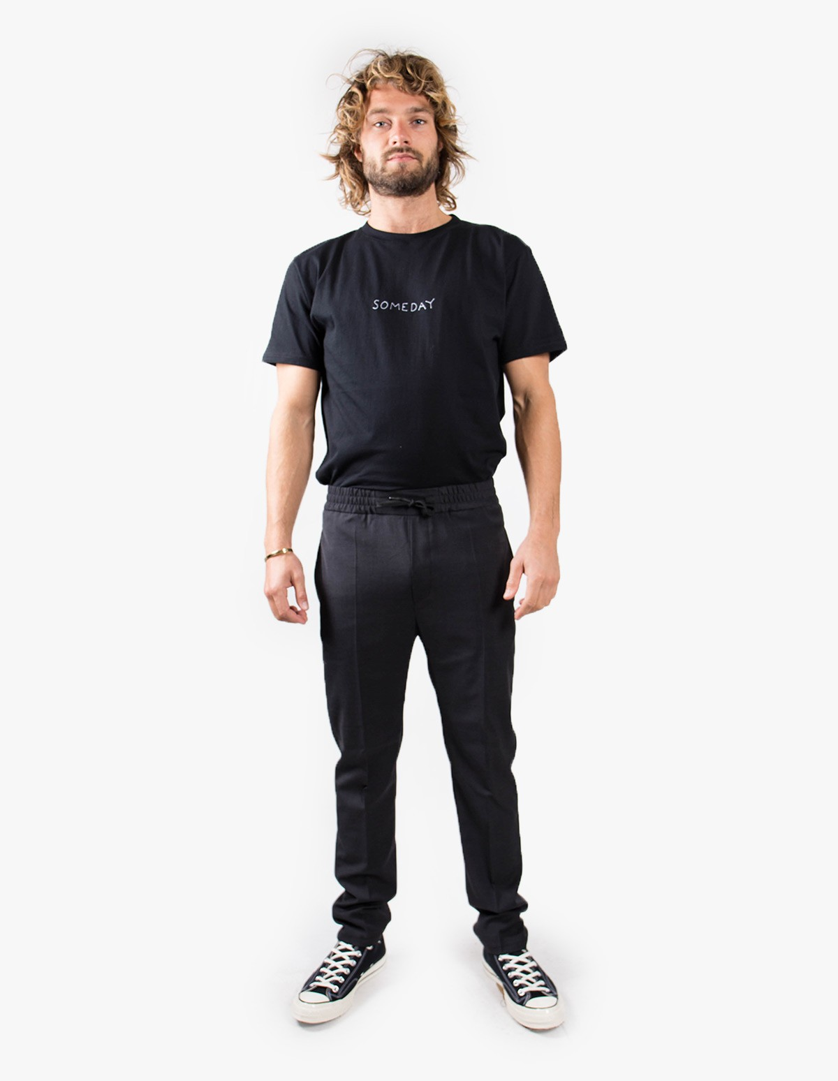 Won Hundred Calvin Trousers  in Obsidian