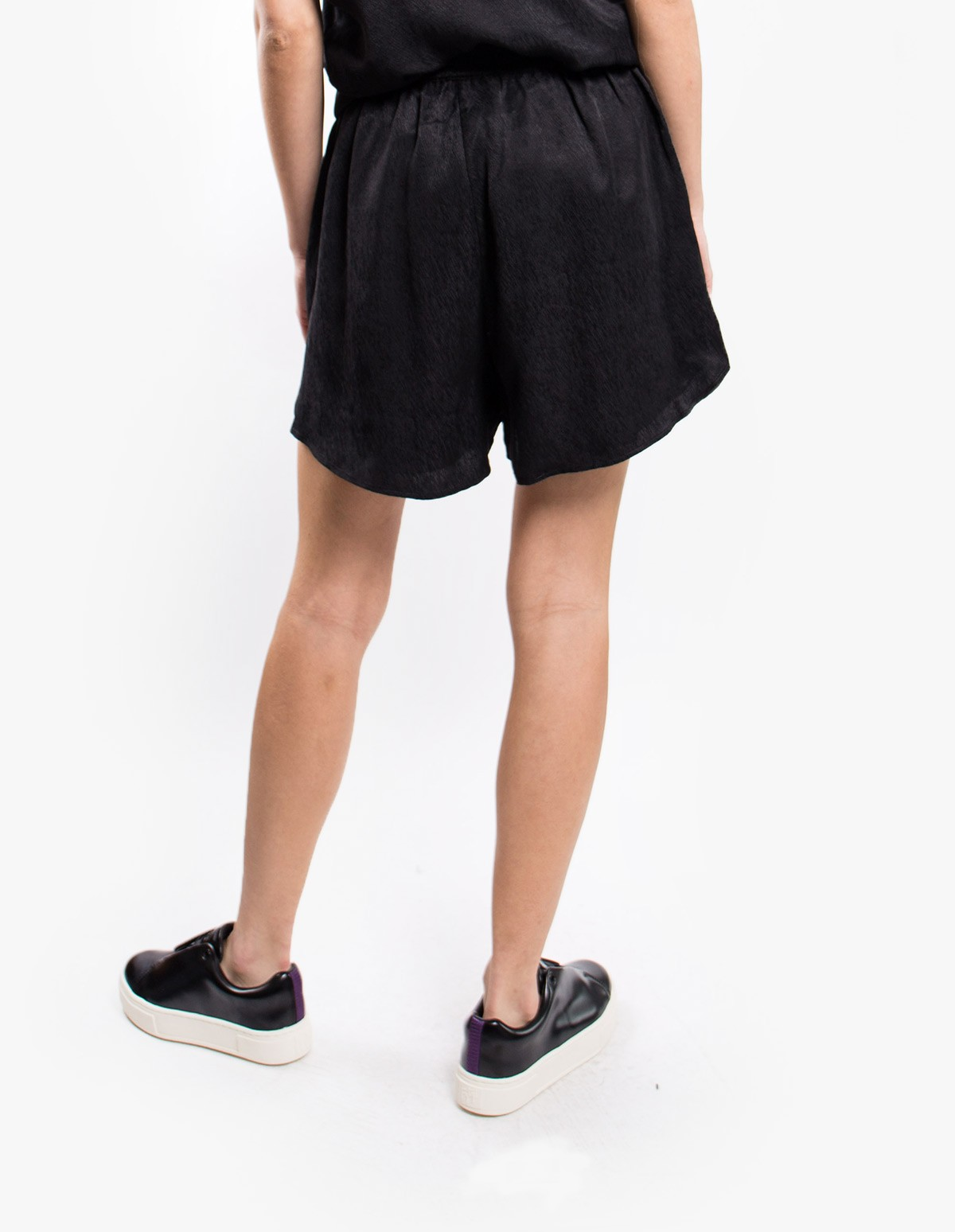 Won Hundred Chili Shorts in Black