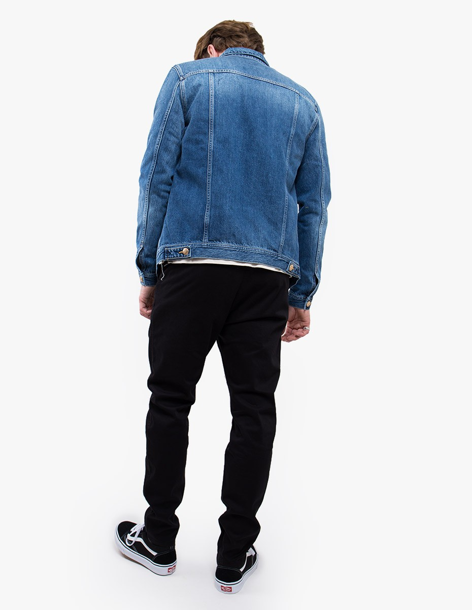 Won Hundred Fourteen Denim Jacket in Bay Blue