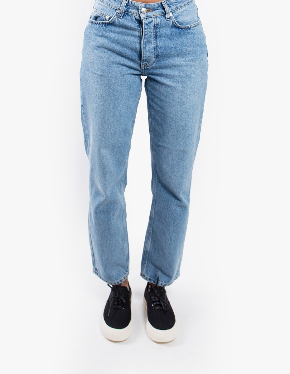 Won Hundred Pearl Denim  in Distressed Blue