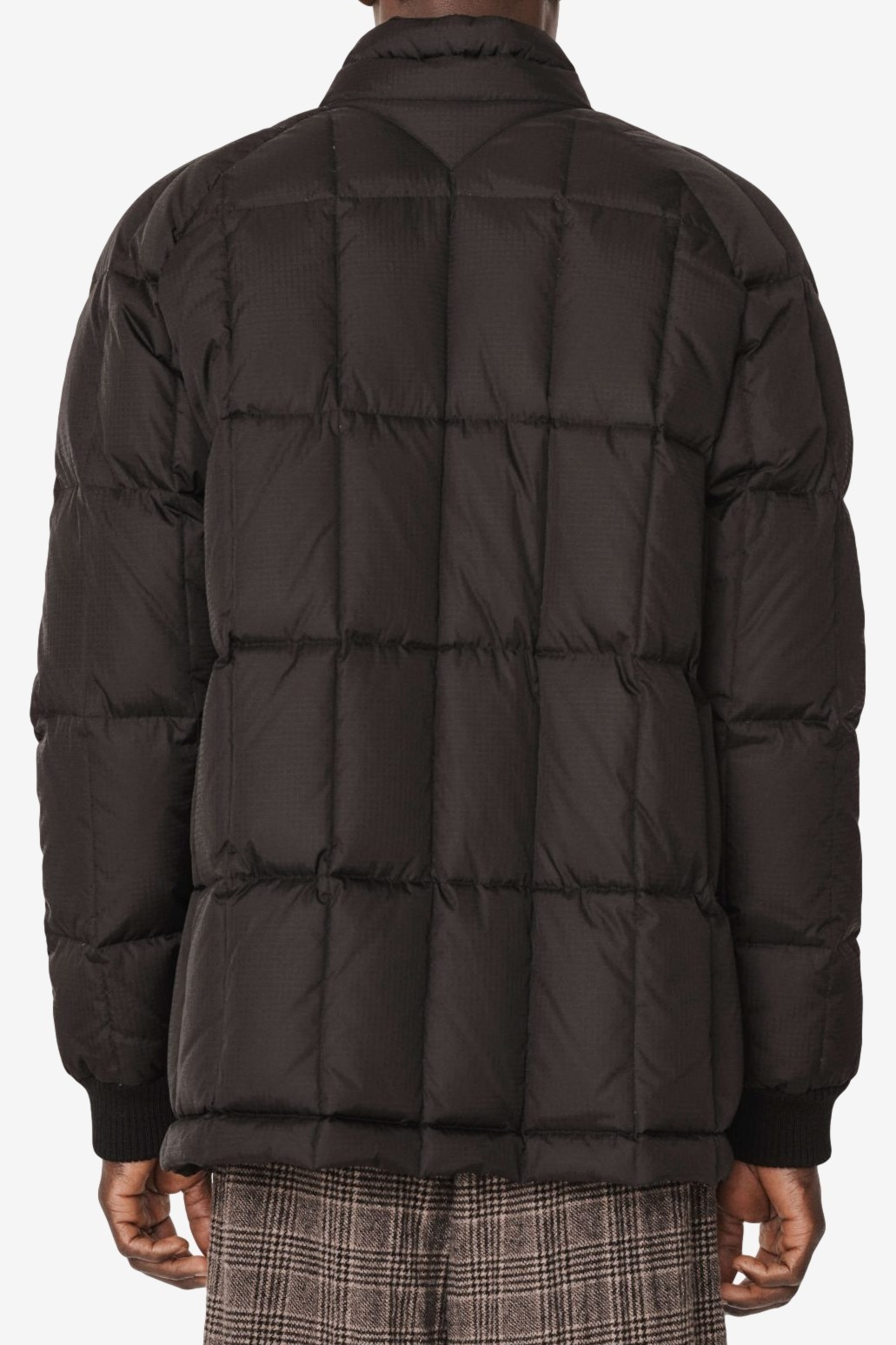 YMC You Must Create Cape Heights South Downs Riptop Coat in Black