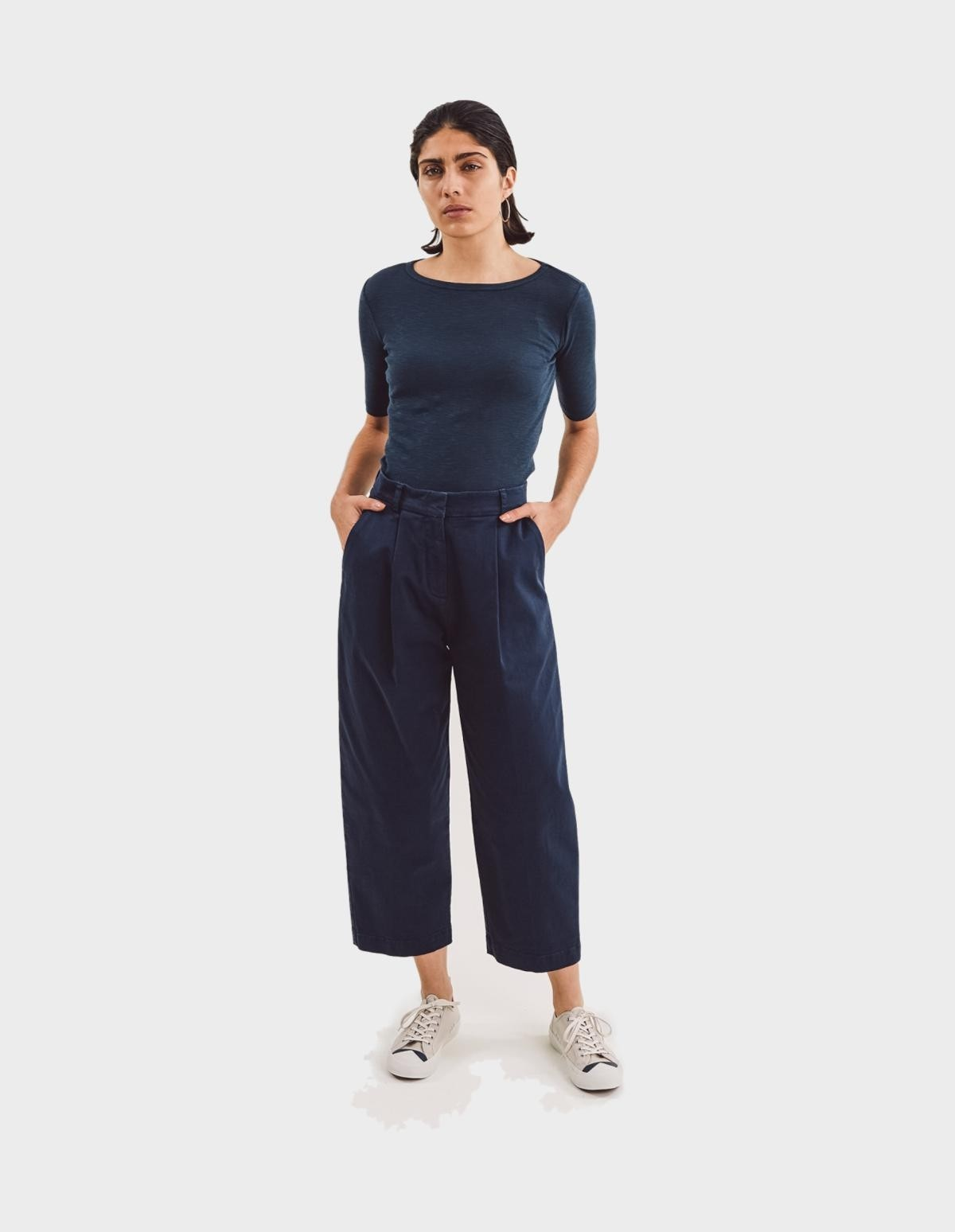 YMC You Must Create Market Trousers in Navy