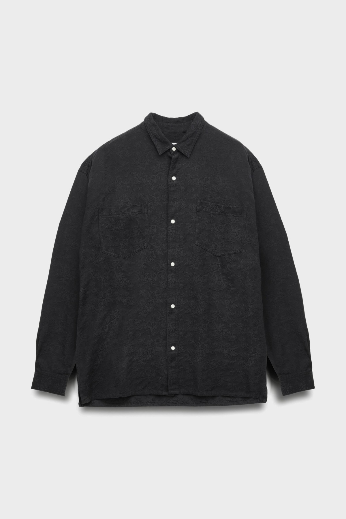 YMC You Must Create Ryder Overshirt in Black