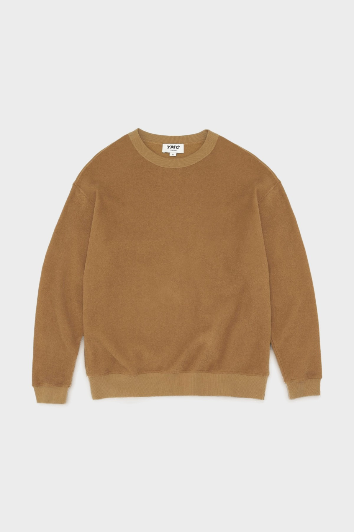 YMC You Must Create Triple LS Tee in Brown