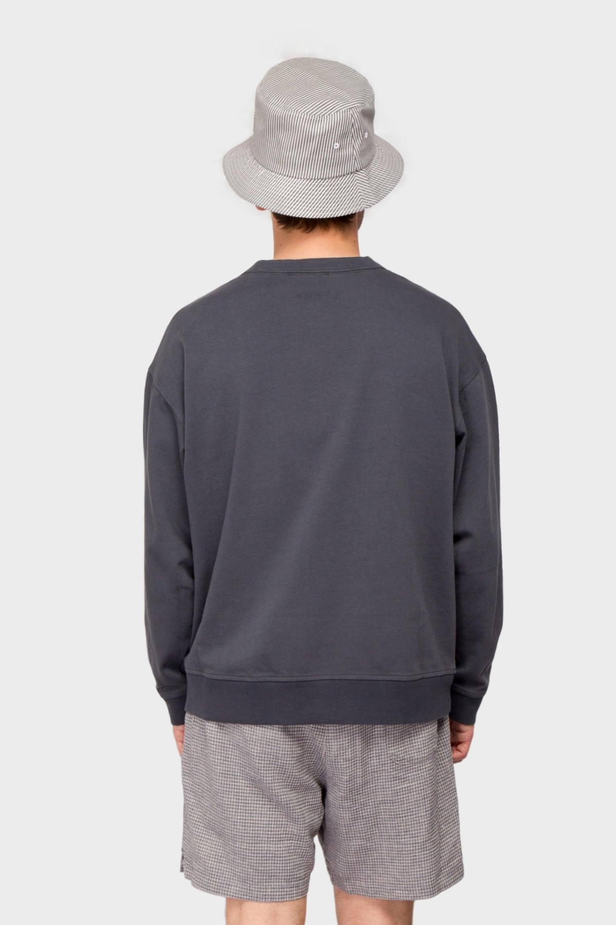 YMC You Must Create Triple LS Top in Charcoal