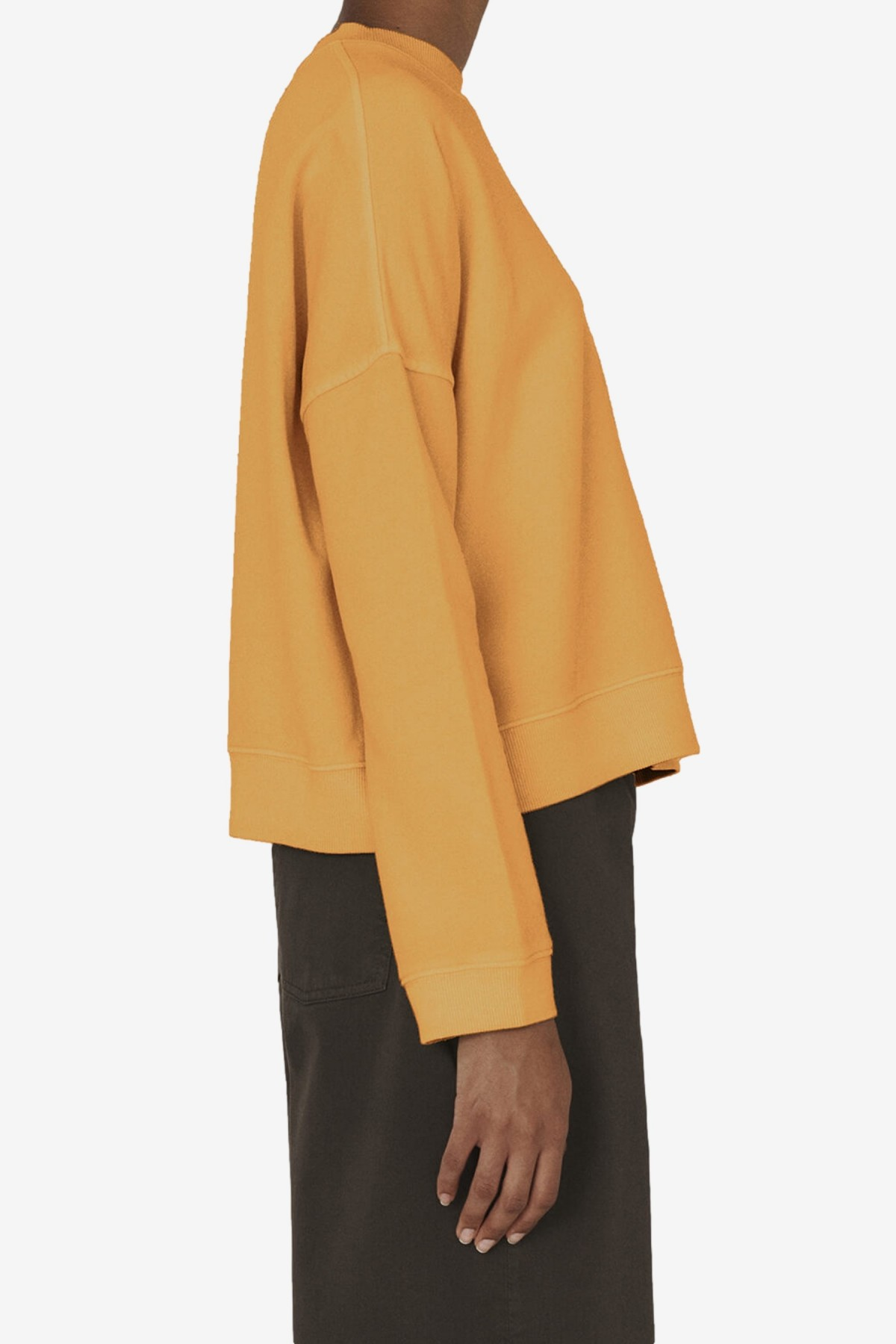 YMC You Must Create Almost Grown Sweatshirt in Yellow