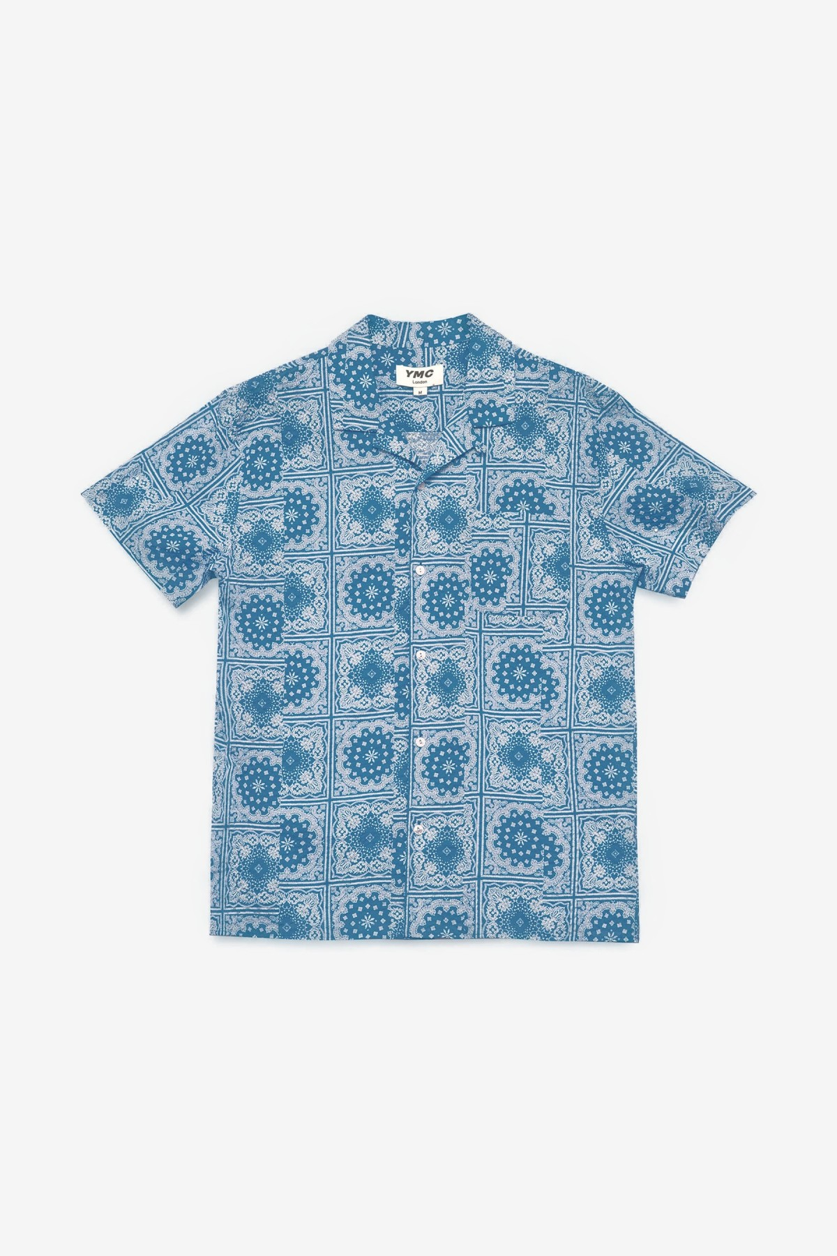YMC You Must Create Malick Shirt in Blue