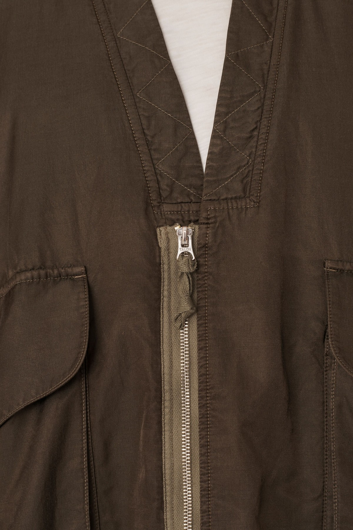 YMC You Must Create Paninaro Bomber Jacket in Olive