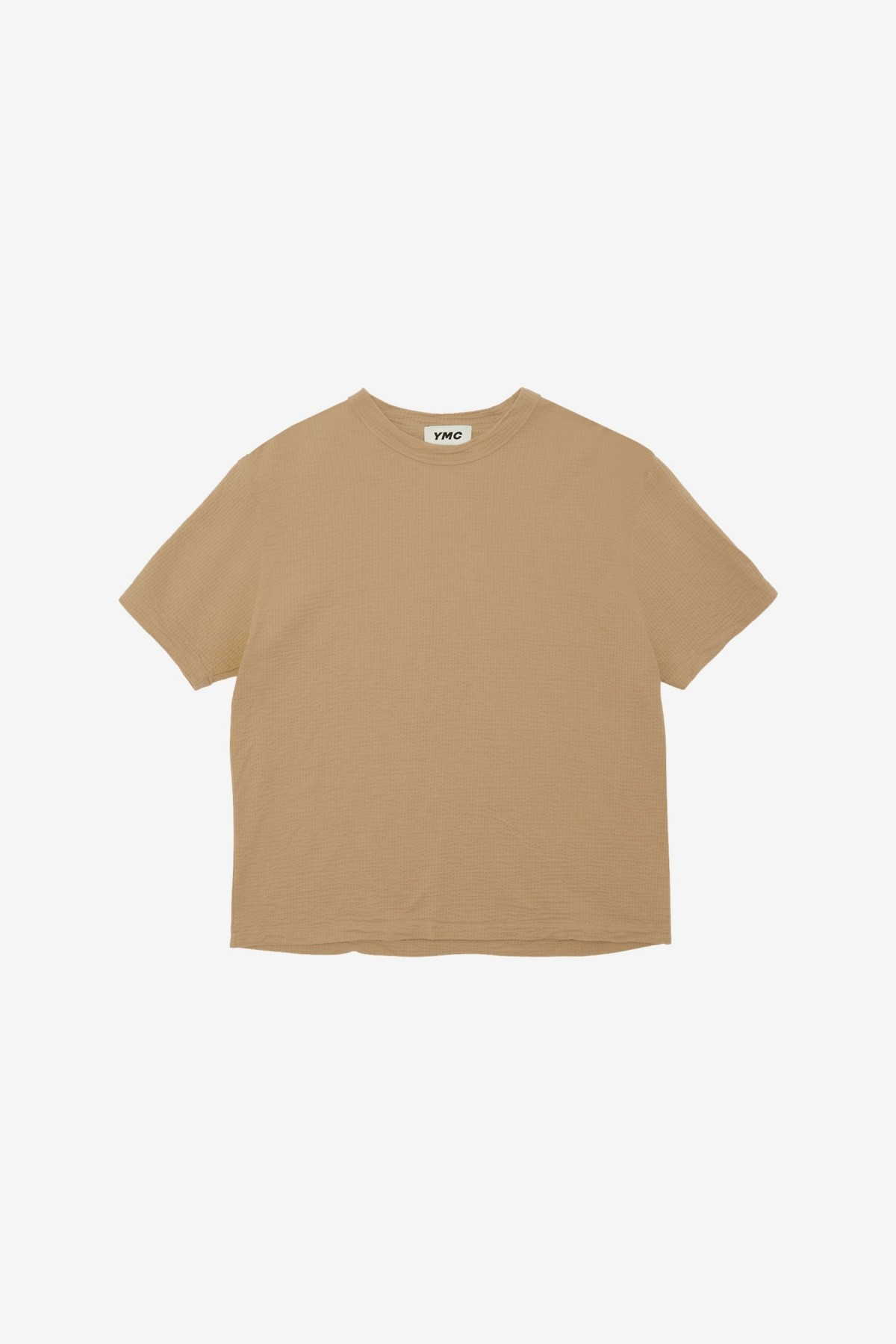 YMC You Must Create Triple S/S T Shirt in Camel