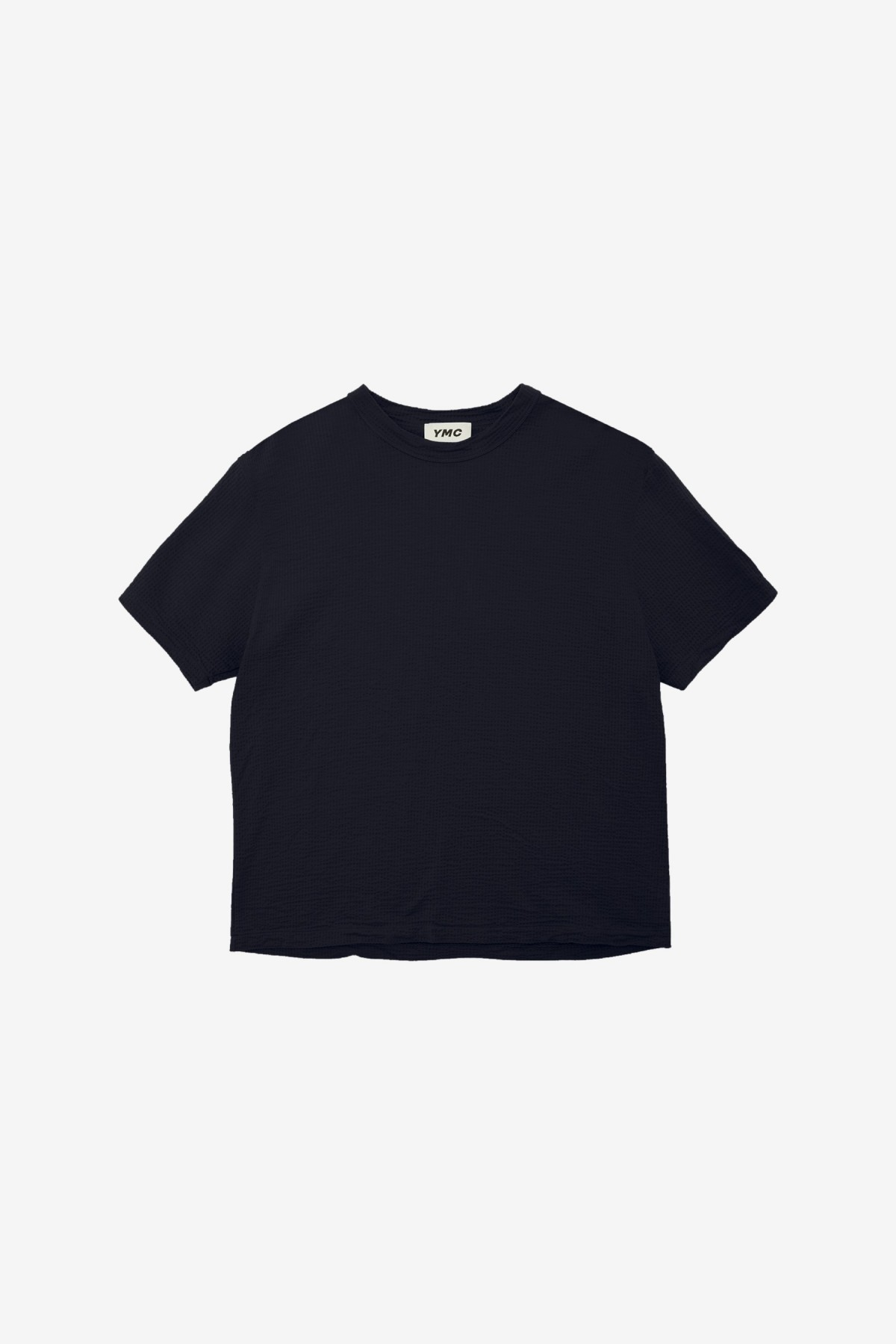 YMC You Must Create Triple S/S T Shirt in Navy