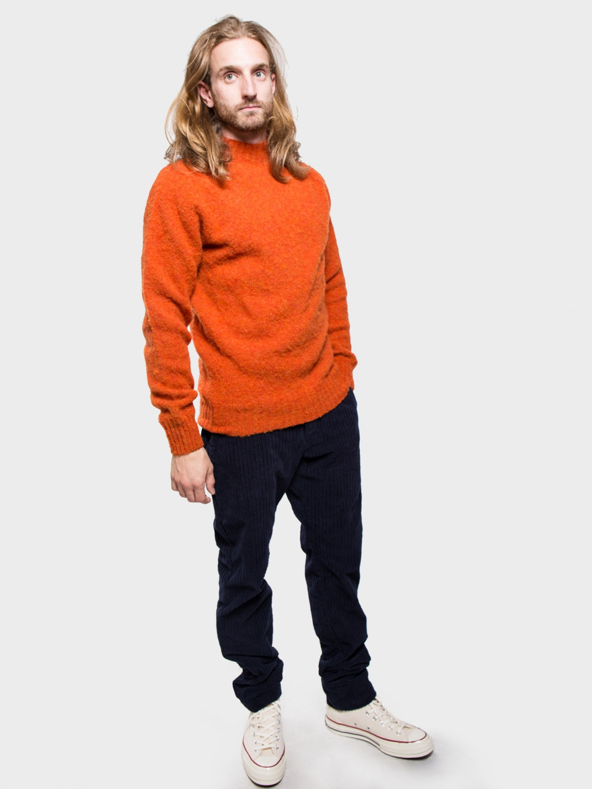 YMC You Must Create Montant Turtle Neck in Rust