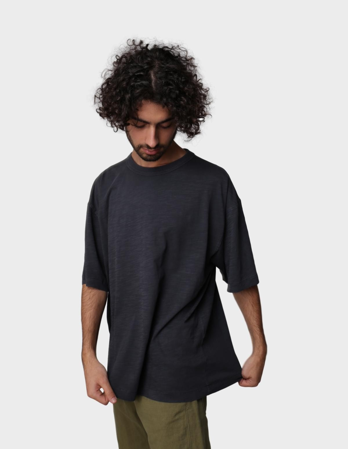 YMC You Must Create Triple SS Top in Charcoal