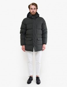 4I01 Polare Hooded Down Jacket