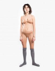 Elastic Bell Pants