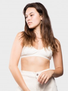 X Bra Cotton Rib
