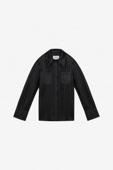 Blaine Pleat Shirt