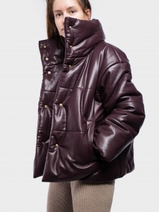 Hide Vegan Leather Puffer