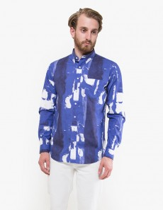Leisure Bold Paint Print Poplin