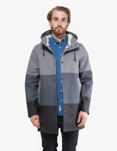 Stockholm Large Stripe Raincoat