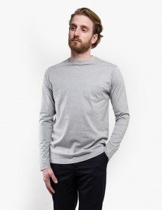 60's Long Sleeve Crew Neck with Pocket