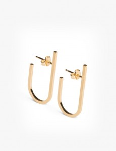 Rivet Earring Gold - Pair