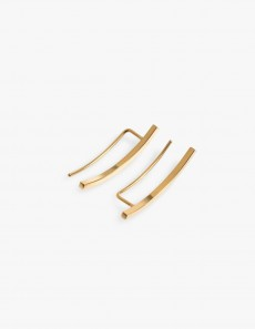 Phase Earring Gold - Pair