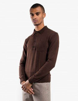 Curtis Knitted Polo