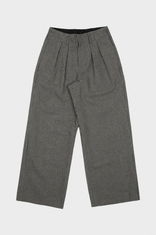 Double Pleat Tailored Trousers