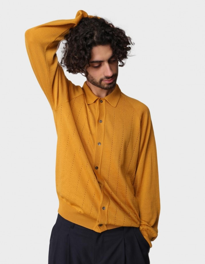 Apio Knit Polo