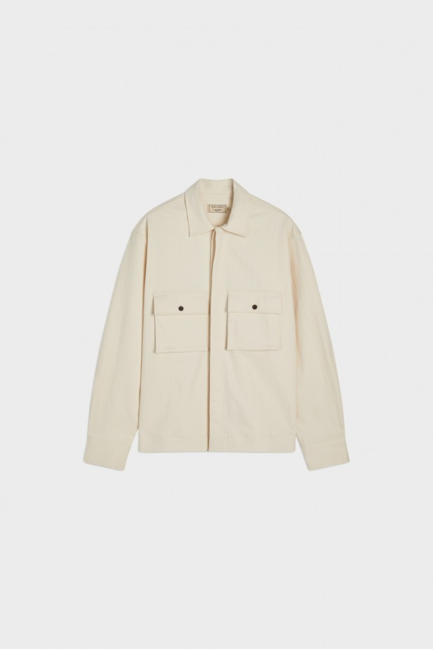 Hidden Placket Shirt