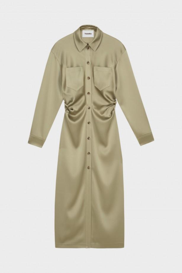 Kinsley LS Shirt Dress
