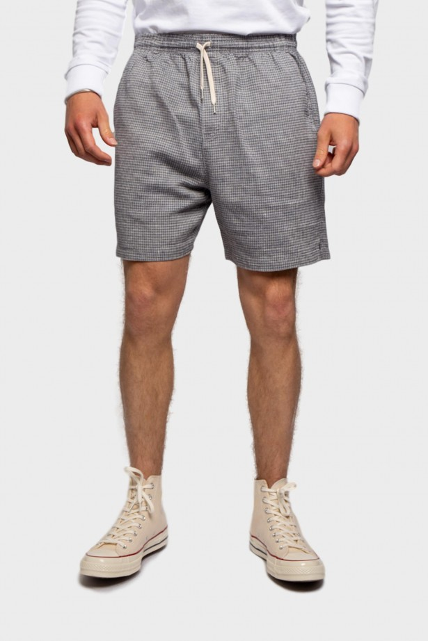 Shorts Melange Check