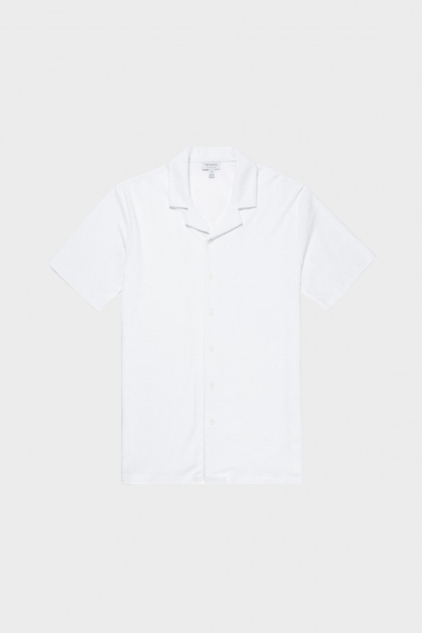 Toweling Camp Collar Shirt