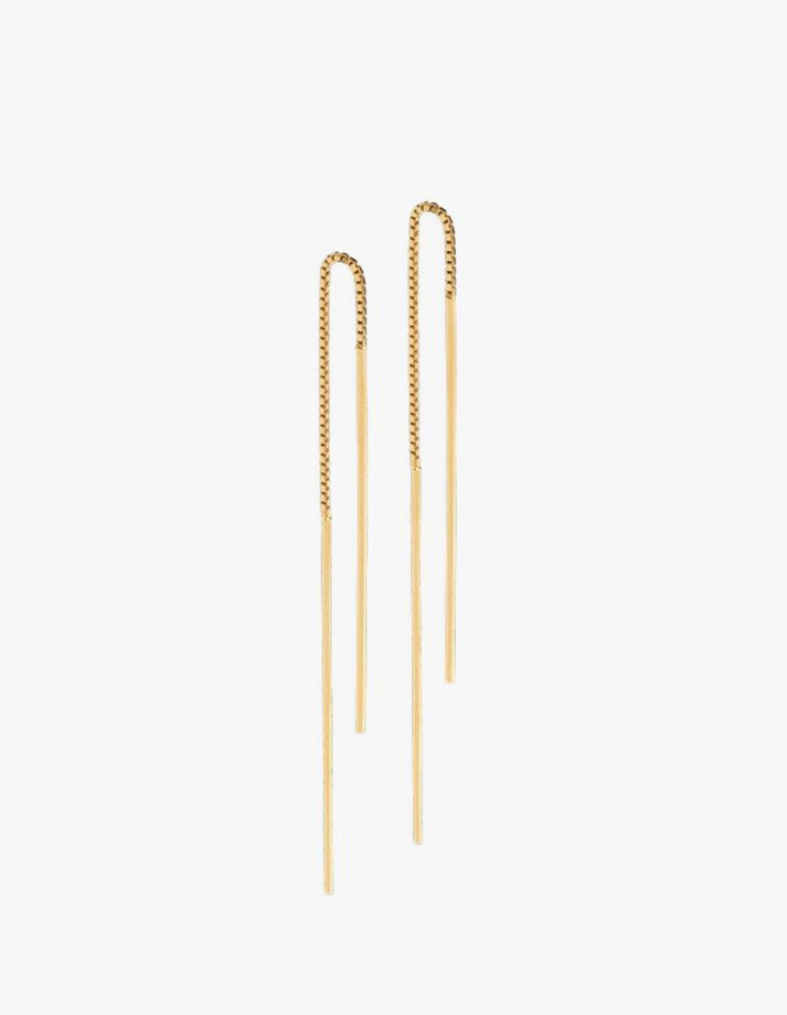 Earrings Radius Wire Gold