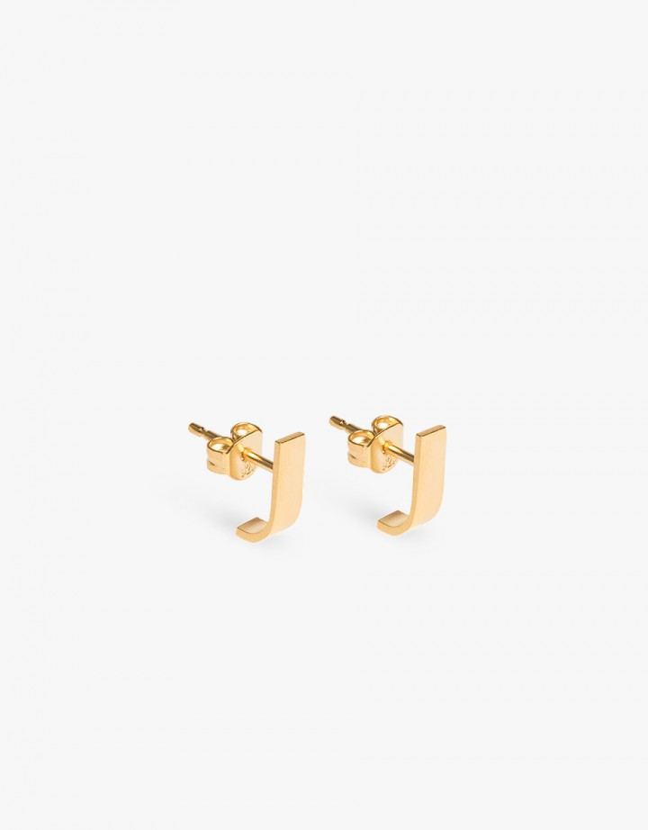 Pack Pin L Earring Gold - Pair