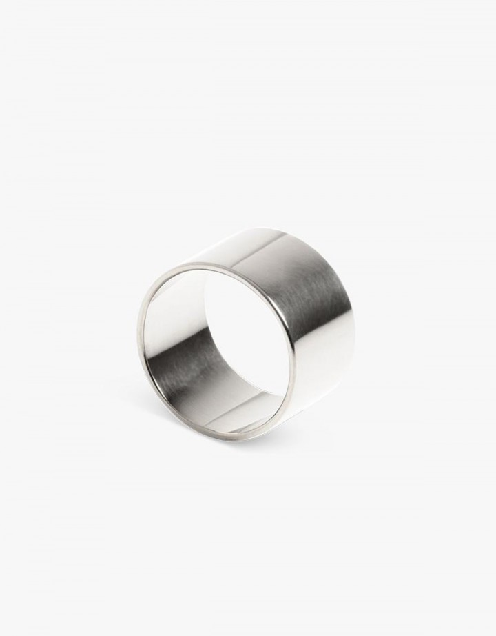 Level Ring Silver