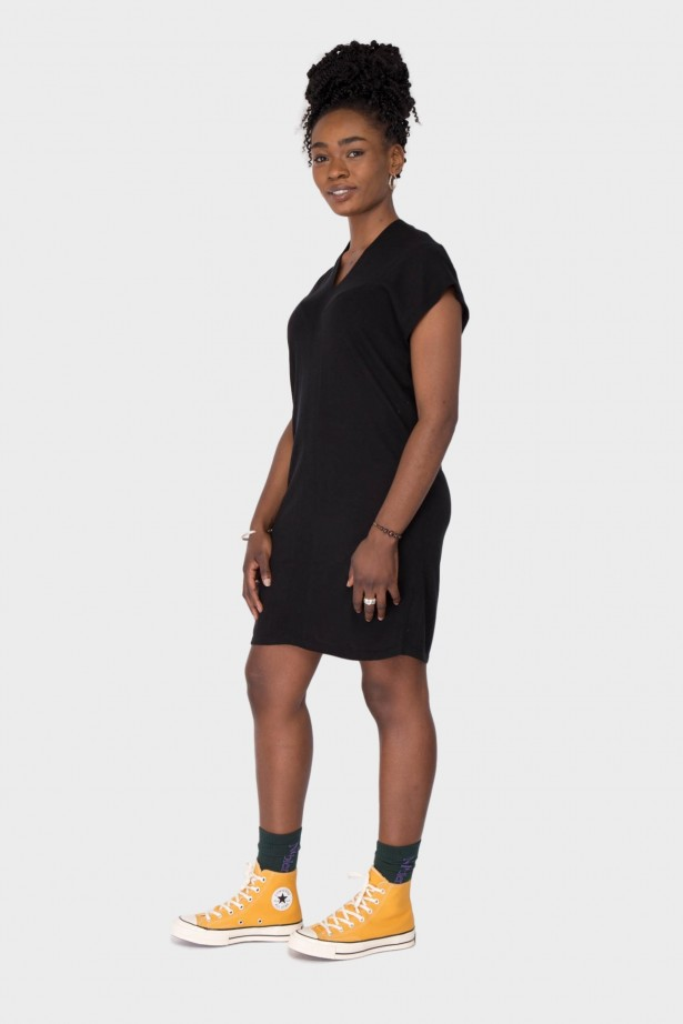 NIki Silk Cashmere Dress