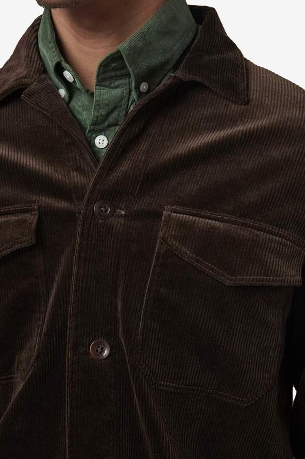 Bernard 1322 Corduroy Overshirt