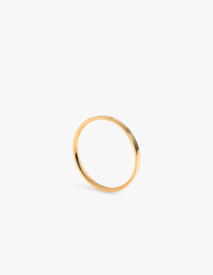 Facet S Ring Gold