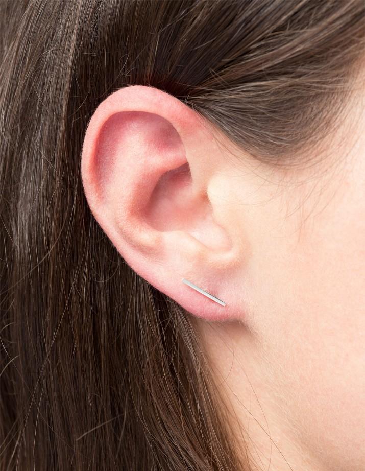 Earring Frontier L Silver