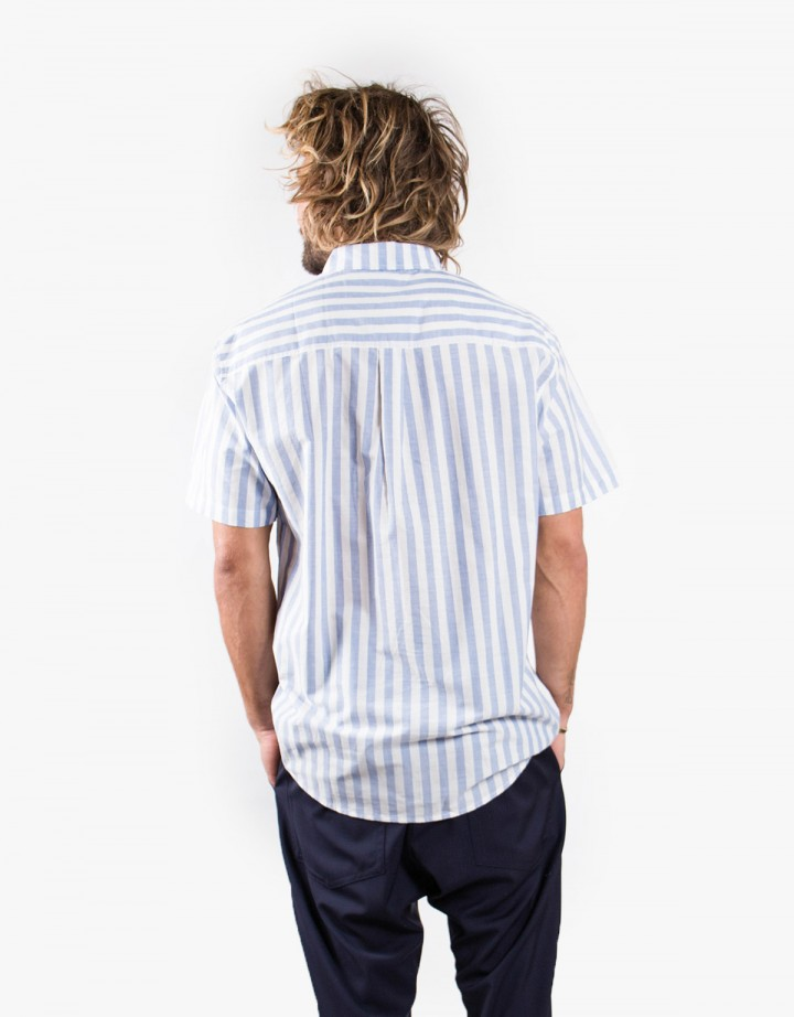 Blue Striped S/S Shirt